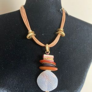 Chico's brand new necklace. NWT. Gorgeous